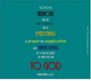 Philippians 4 6 E-card